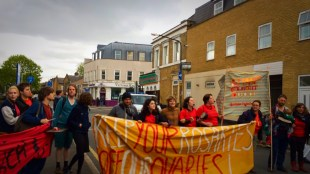 Pro Choice Direct Action 9th May 2015
