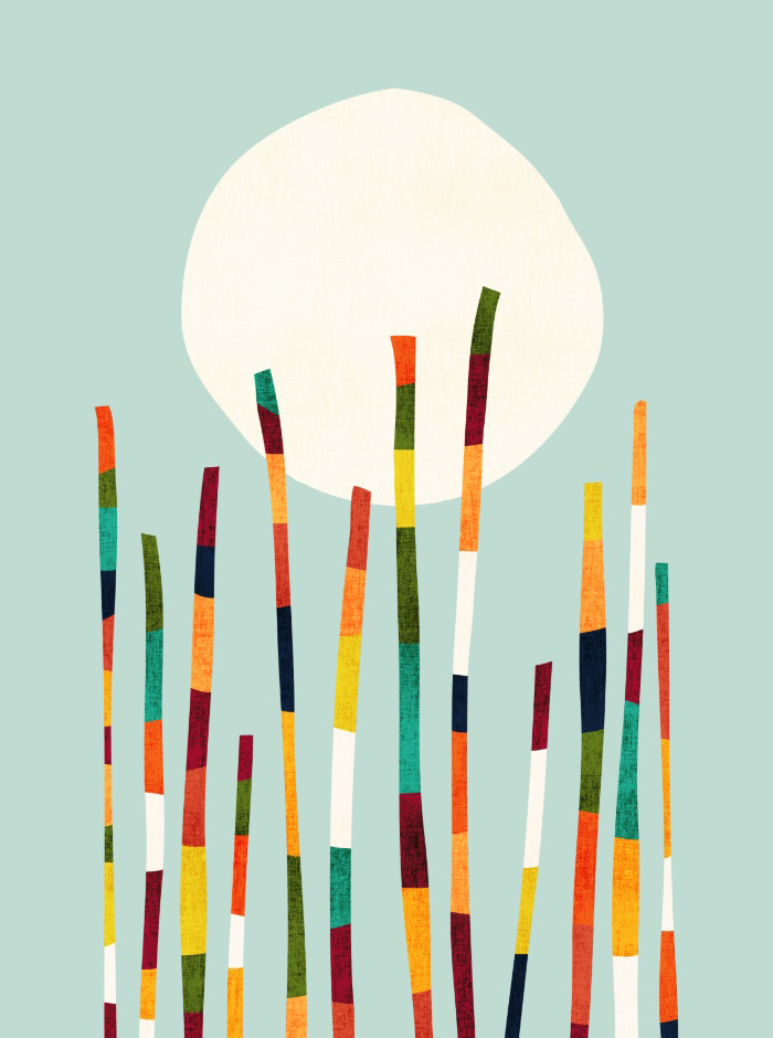 Sunday's Society6 - Picomodi, Bamboo forest