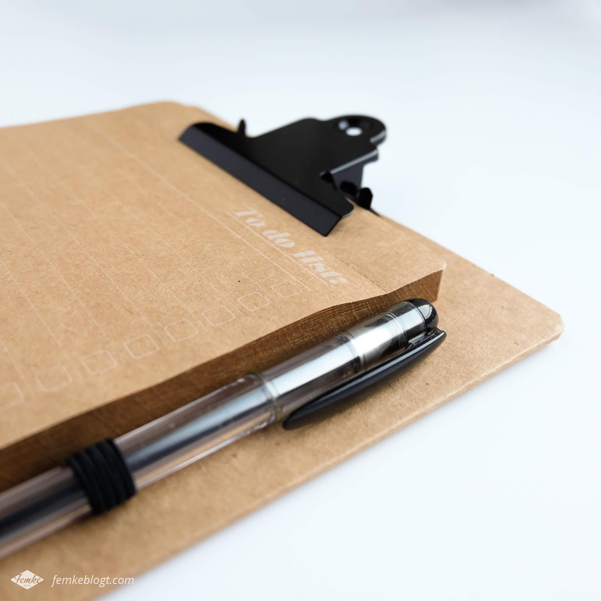 Shoplog Paperchase, magneetbordje