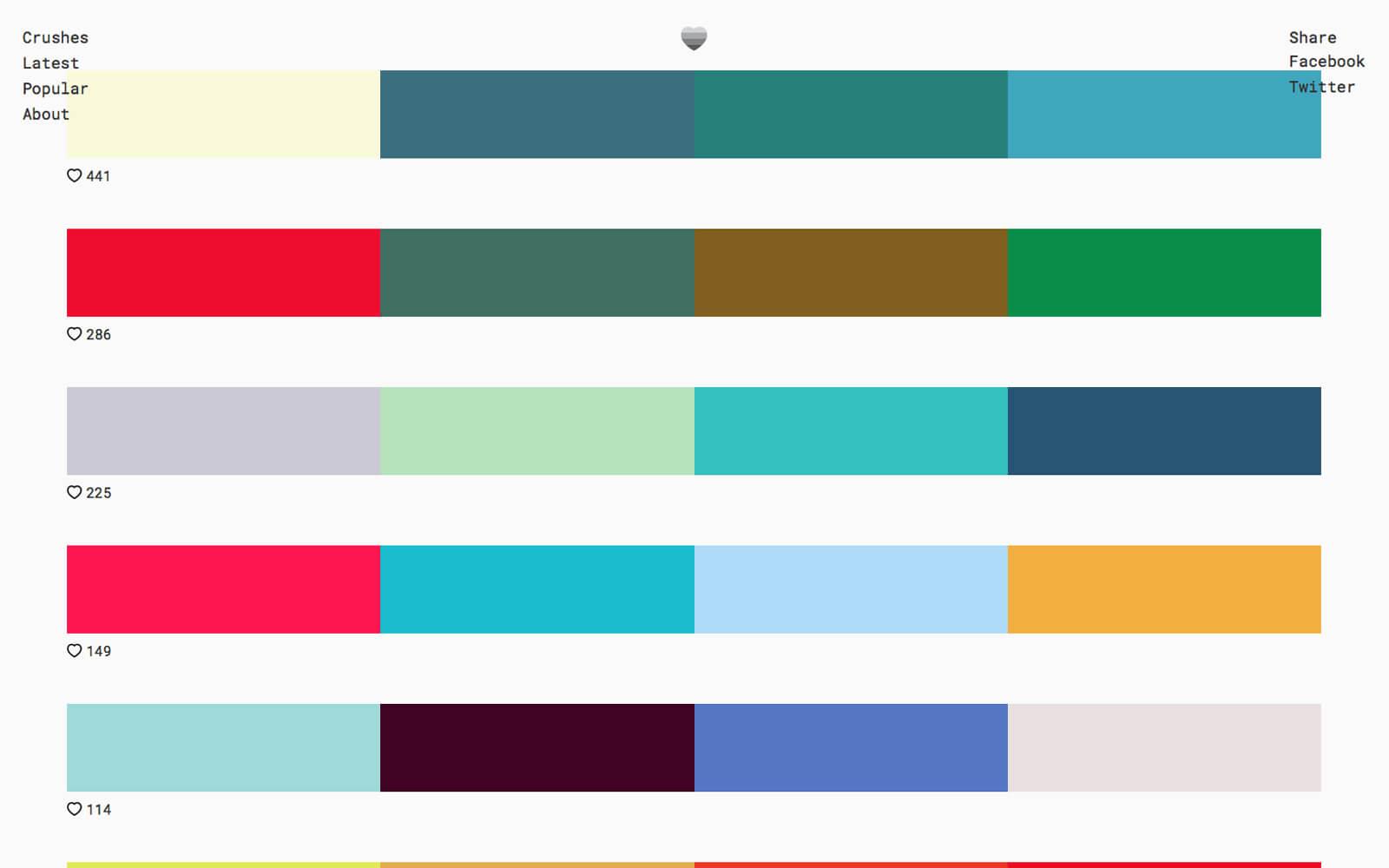 Tools kleurenschema's, Color Crush - verkennen