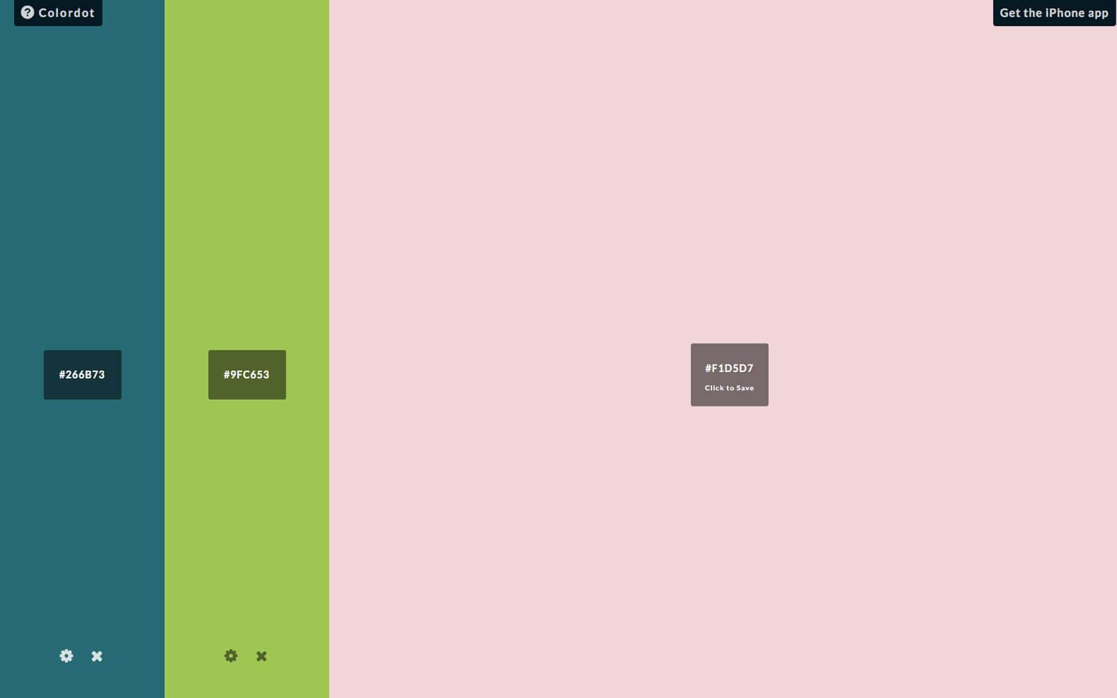 Tools kleurenschema's, Colordot