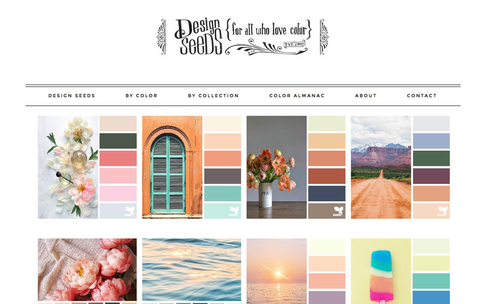 Tools kleurenschema's, Design Seeds - Color