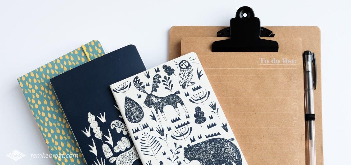 Shoplog Paperchase, notitieboekjes