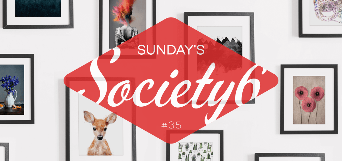 Sunday's Society6 #35 | Happy holidays