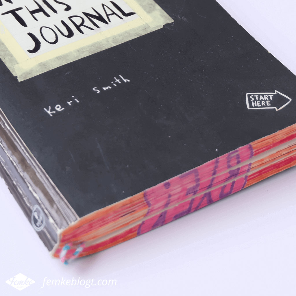 Review Wreck this journal