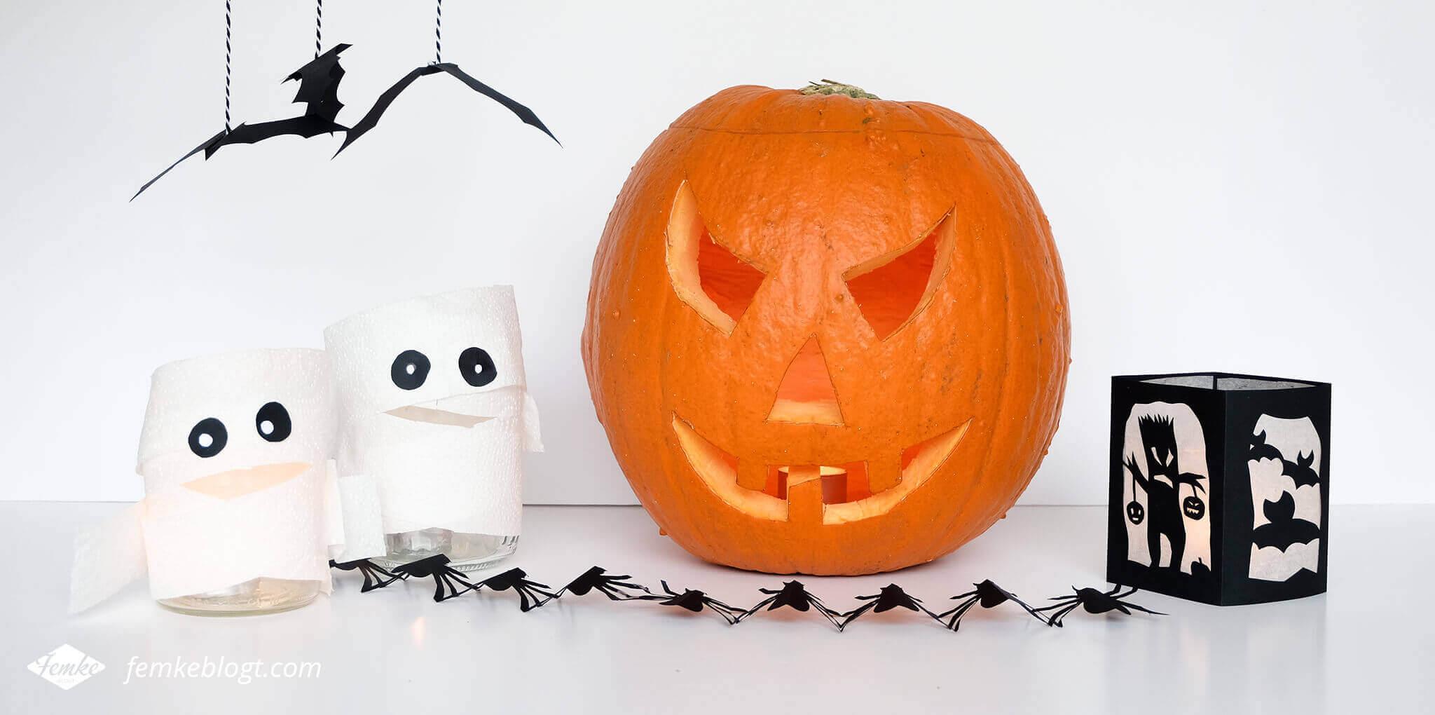 DIY Halloween decoratie   Griezelige en simpele DIY Halloween decoratie. Griezelen gegarandeerd!