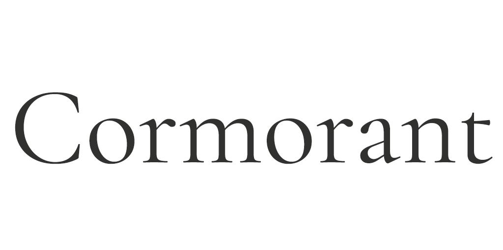 Klassiek lettertype - Cormorant