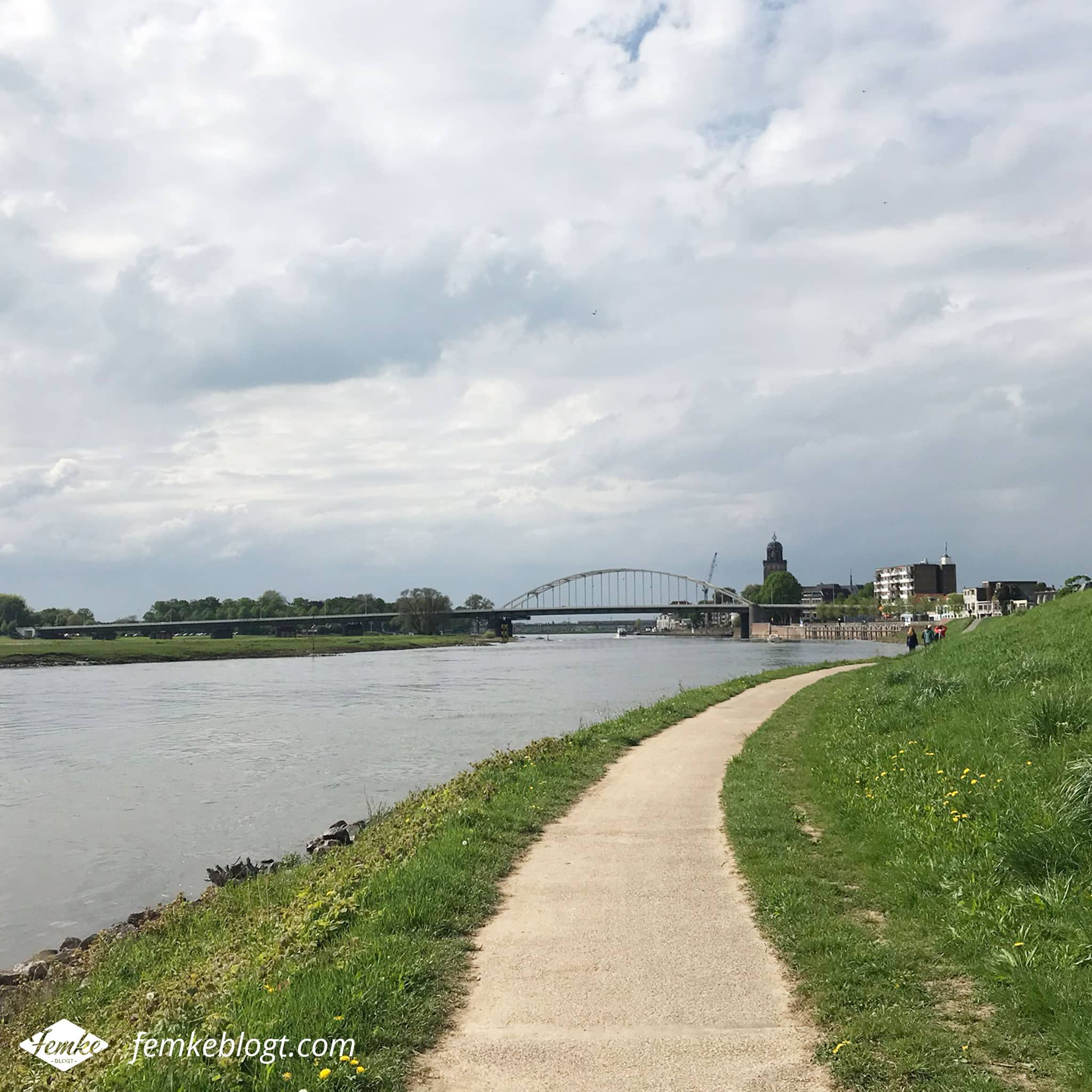Maandoverzicht april | Hanzestedenpad Zutphen - Deventer