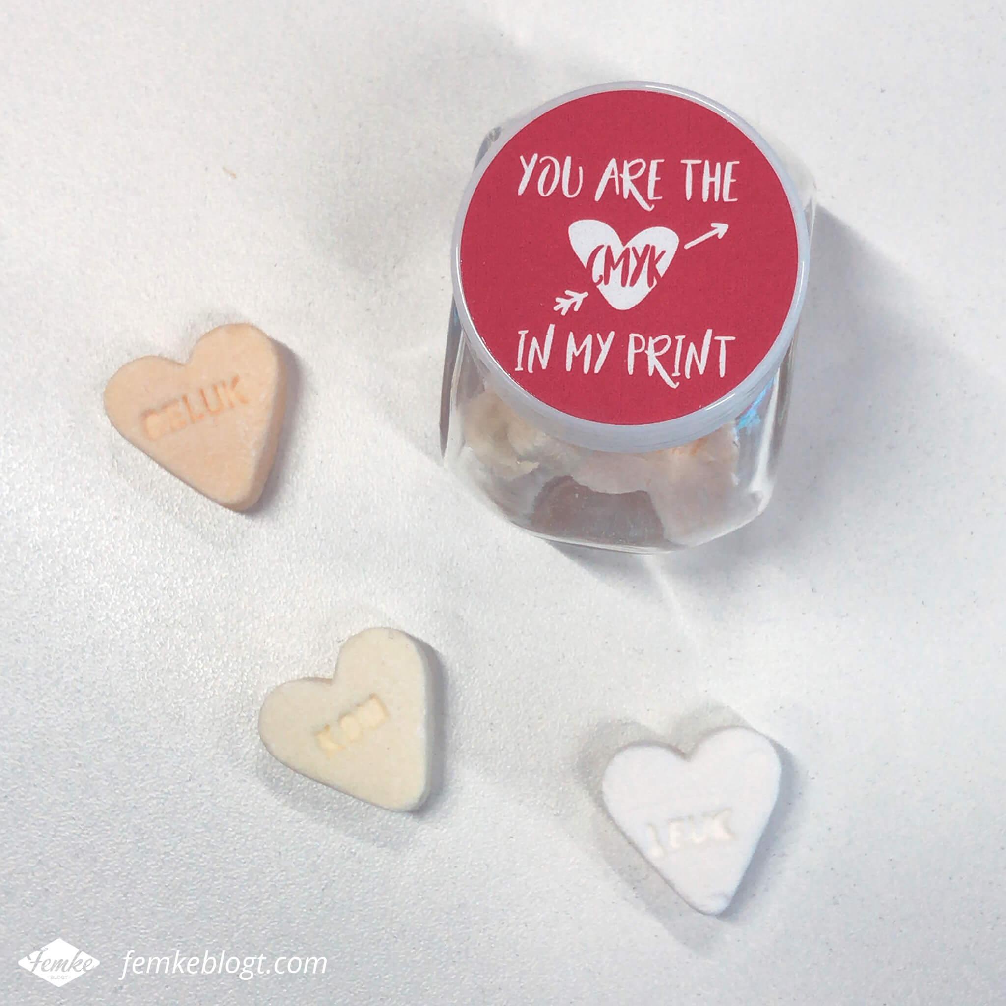 Maandoverzicht februari | Valentijnsdag, You are the CMYK in my print