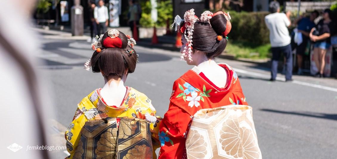Geisha's in Japan