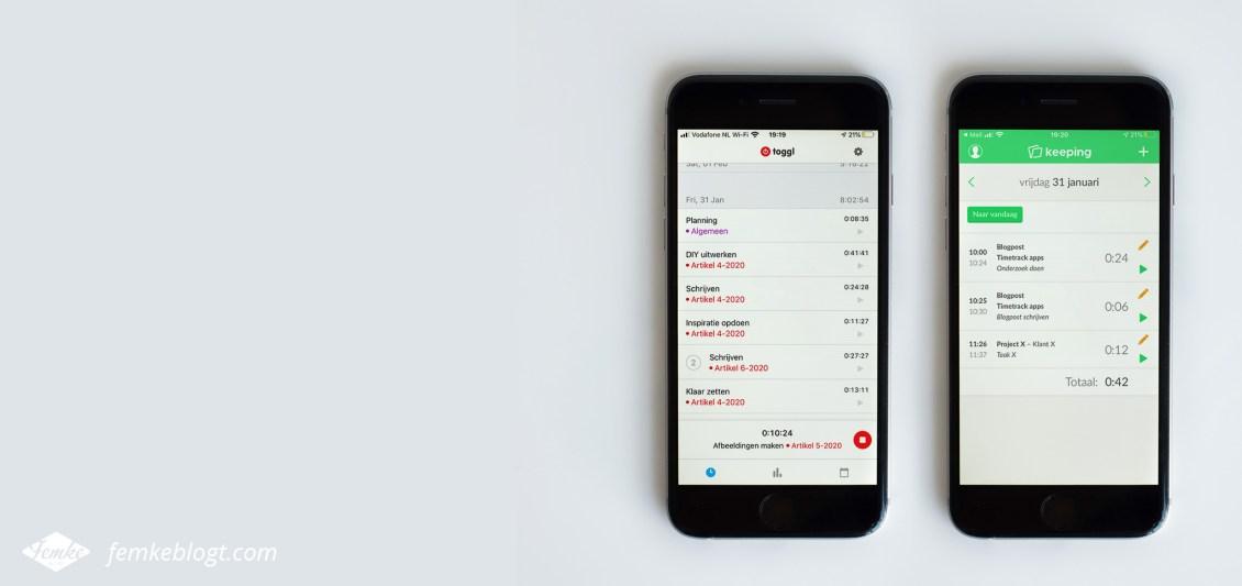 Timetrack apps
