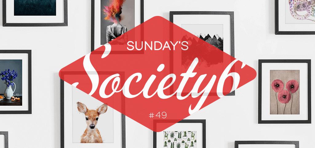 Sunday's Society6 #49 | Taart!