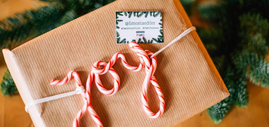 kerstdecoratie maken met fimo klei