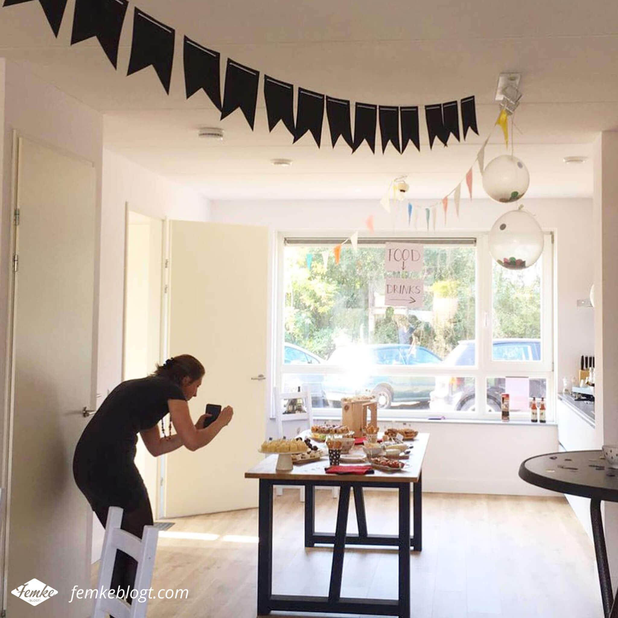 Maandoverzicht september | Onze housewarming, behind the scenes