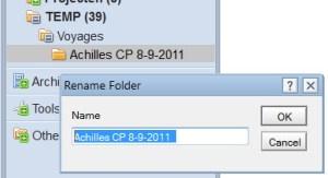folder name problem