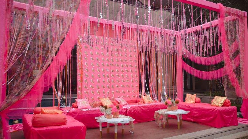 Pink Panther wedding theme