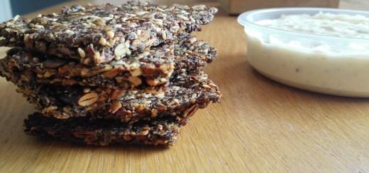 lijnzaad crackers mayo