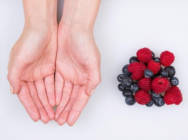 voedsel portie fruit
