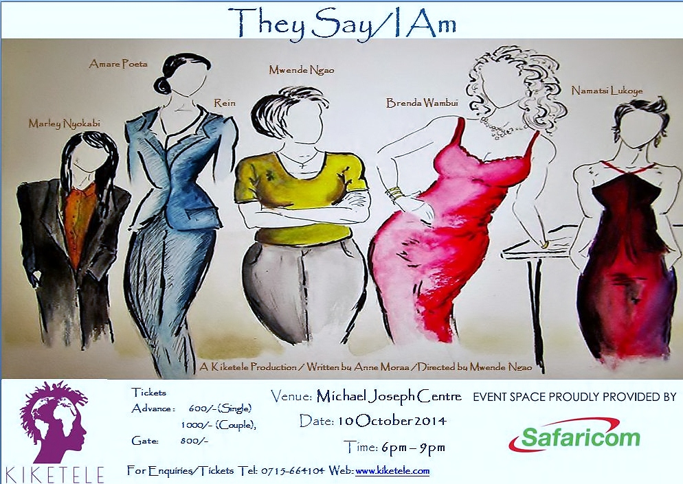 They Say I Am Poster Final Revised