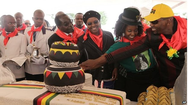Mugabe Birthday