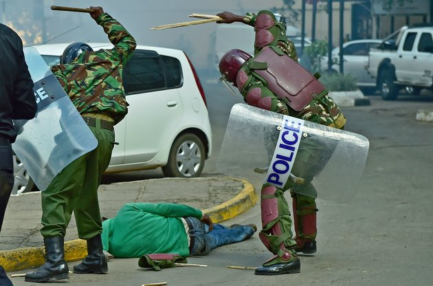 KENYA-POLITICS-UNREST-POLICE