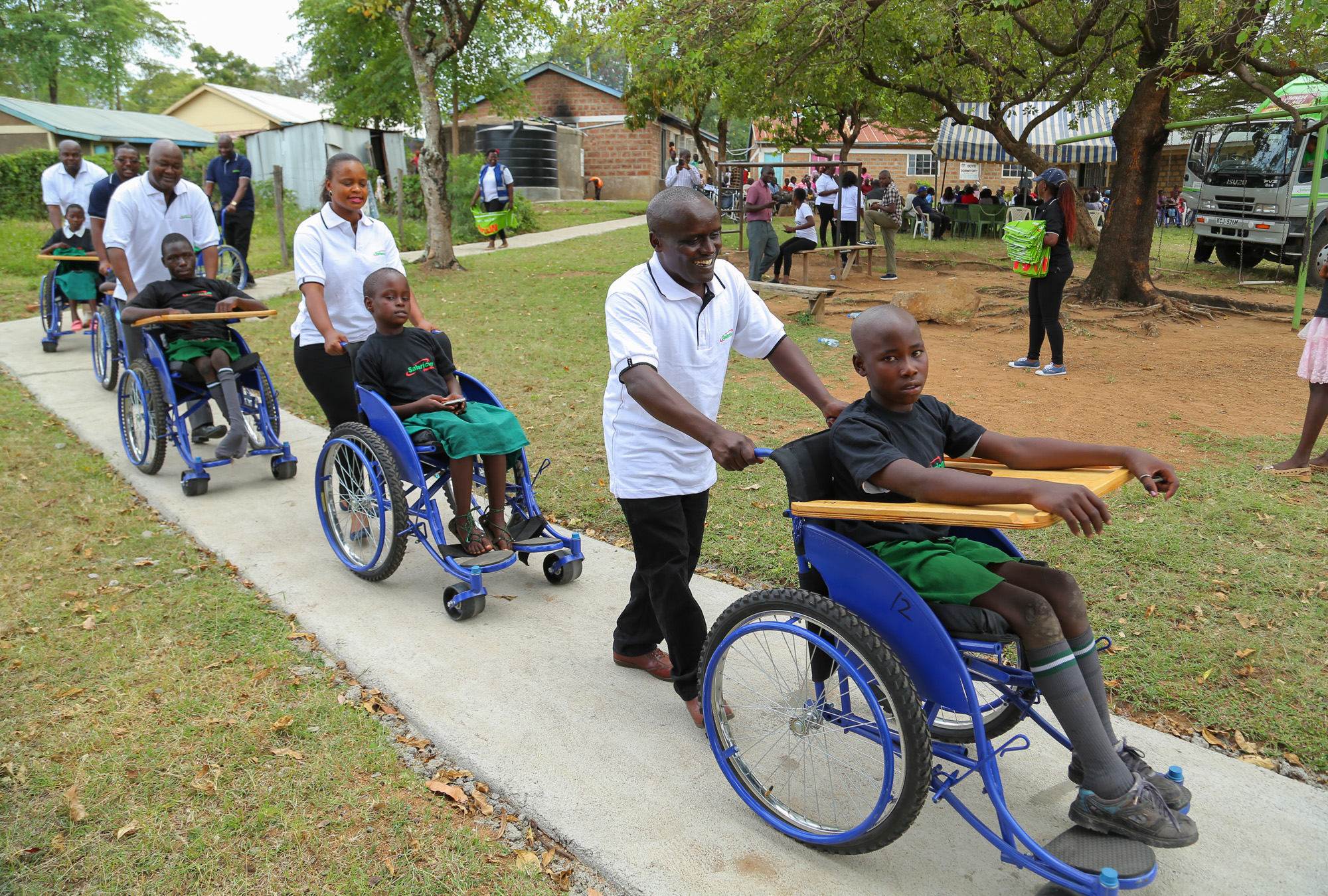 Safcom Wheelchair Handover