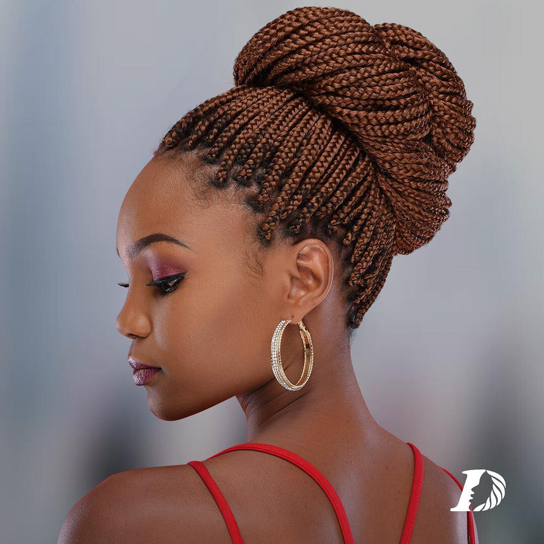 Enjoy Braids And At The Same Time Protect Your Hairline With Darling Elegant Braids