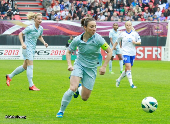 Equipe de France Féminine de Football - Juin 2013 - Gaëtane Thiney