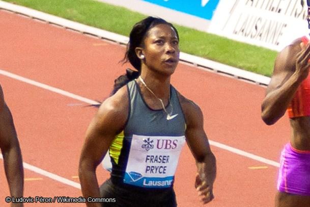 Athlétisme - Shelly Ann Fraser