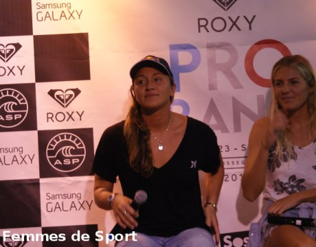 Carissa Moore - Roxy Pro France 2014 - Surf - Femmes de Sport