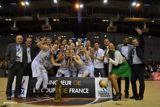 Montpellier remporte la coupe de france femmes de - Finale coupe de france basket feminin ...