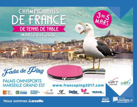 Championnats de france de tennis de table marseille 2016 - Championnat de france de tennis de table ...