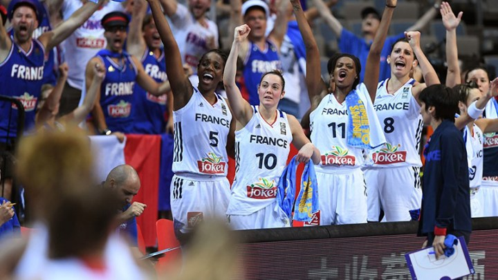 Basket France joie