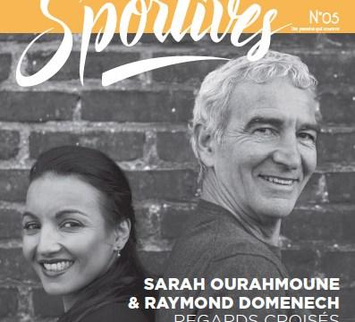 Pertenaire - Les Sportives Magzine 5 - Sarah Ouramoune et Raymond Domenech