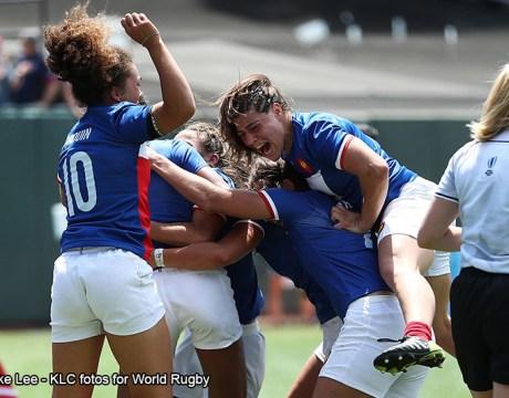 Equipe de France féminine de Rugby à 7 - Rugby féminin - Sport Féminin - Femmes de Sport