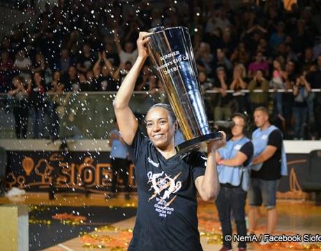 Estelle Nzé Minko - Coupe EHF 2019