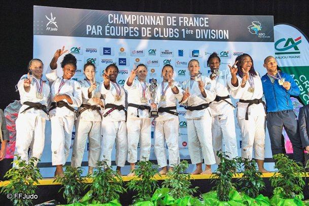 Blanc-Mesnil Champion de France par équipe de Judo Féminin - Femmes de Sport - Sport Féminin