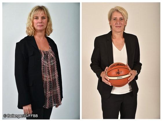 Yannick Souvré & Cathy Melain - FFBB - Basket féminin - Sport Féminin - Femmes de Sport