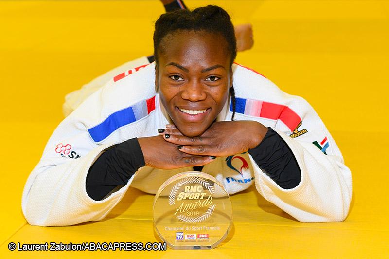 Clarisse Agbegnenou - Championne du Sport français 2019 - Judo Féminin - Sport Féminin - Femmes de Sport