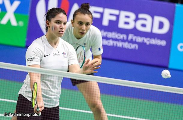 Vimala Heriau et Margot Lambert - Badminton féminin - Sport Féminin - Femmes de Sport