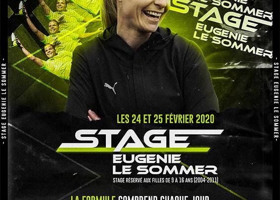Stage Eugénie Le Sommer - Football Féminin - Sport Féminin - Femmes de Sport