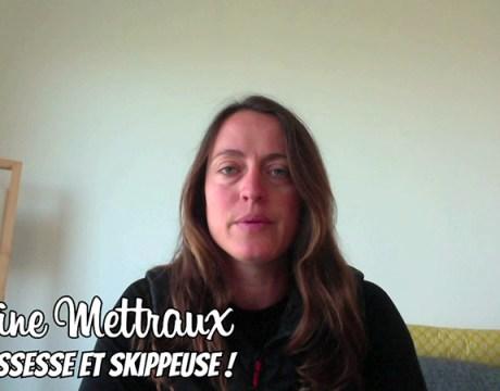 La Selfinterview - Justine Mettraux - Voile - Sport Féminin - Femmes de Sport