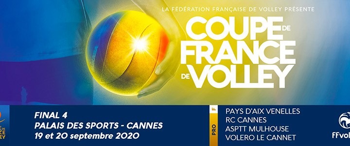Volley - CDF - Coupe de France 2020 - Final 4