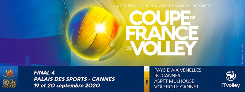Volley - CDF - Coupe de France 2020 - Final 4