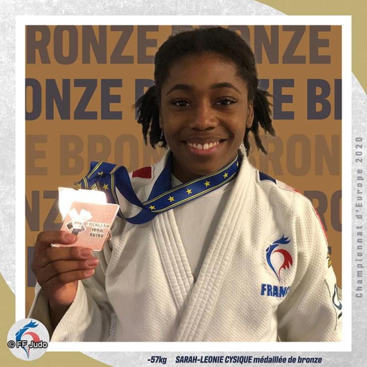 Sarah-Léonie Cysique - Judo féminin - Sport Féminin - Femmes de Sport