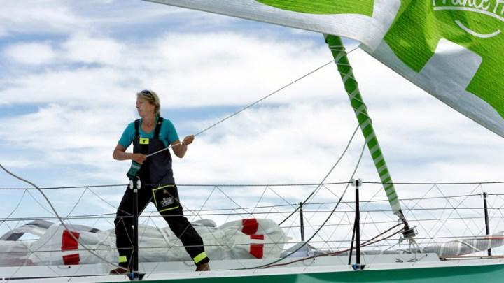 Miranda Merron - Campagnes de France - Vendée Globe 2020 - Voile féminine - Sport Féminin - Femmes de Sport
