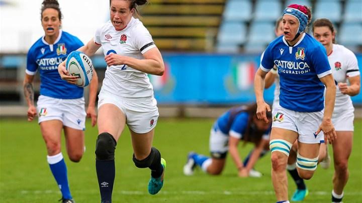 Emily Scarrat - Angleterre - Rugby féminin - Sport féminin - Femmes de sport