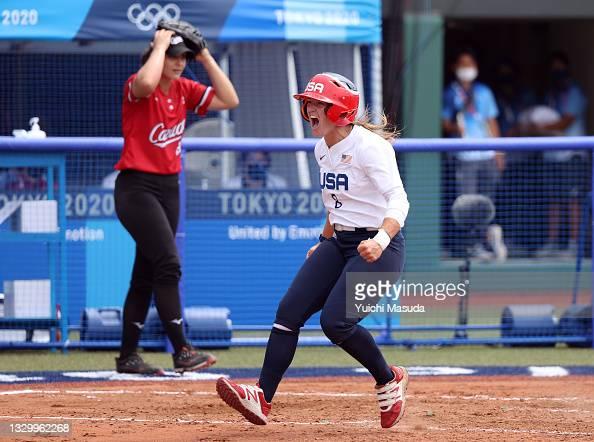 USA vs Canada - Softball - Sport féminin - Femmes de Sport