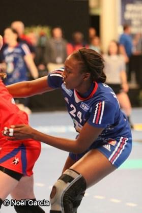 Handball - Equipe de France Féminine de Handball - Mariama Signaté
