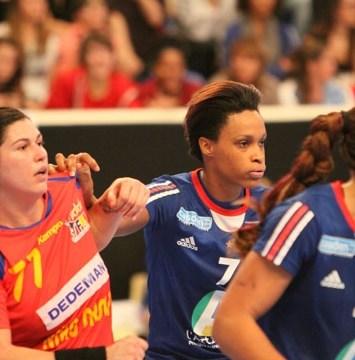 Handball - Equipe de France Féminine de Handball - Allison Pineau